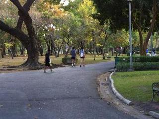 公園でロード練習