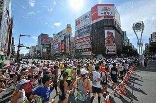 すすきのも走るらしい北海道マラソン