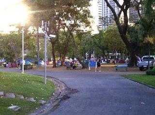 チャトゥーチャック公園の様子