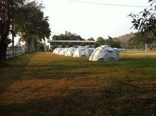 バンコク近郊県の国立公園側で開催されたミニ・ハーフマラソン