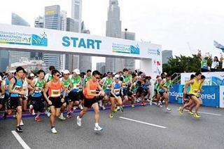 シンガポールもマラソン人気